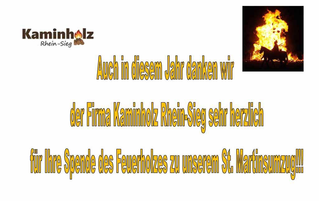 kaminholz-spende